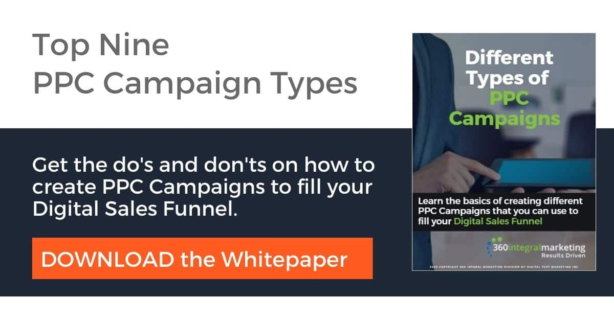 Top 9 PPC Campaign Types White paper
