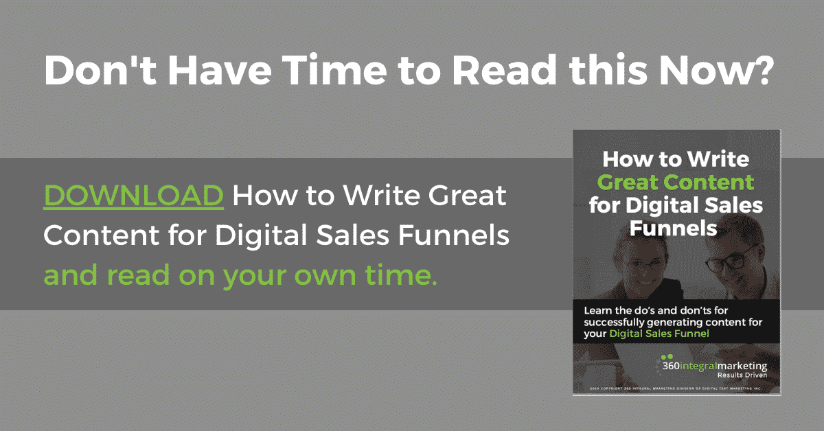 Download How to Write Great Content with Digital Sales Funnels
